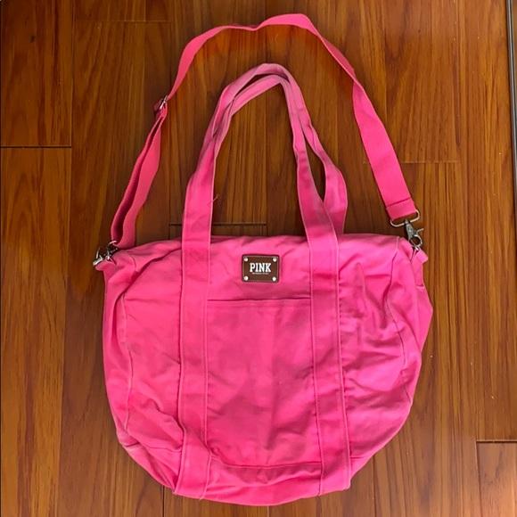🌿 VS Pink Duffle Bag